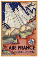 Air France Amerique du Nord Fine-Art Print