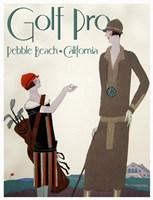 Golf Pro Fine-Art Print