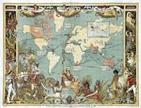British Empire In 1886 Fine-Art Print