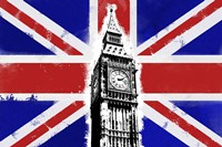 Big Ben Union Jack Fine-Art Print
