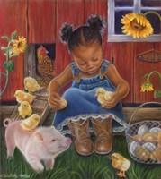 Barn Babies Fine-Art Print