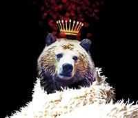 Royal Love Grizzly Bear Fine-Art Print