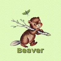 Cute Baby Beaver Fine-Art Print