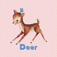 Cute Baby Deer Fine-Art Print