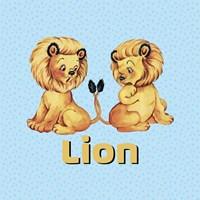 Cute Baby Lions Fine-Art Print