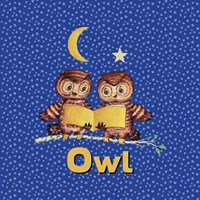 Cute Baby Owls Fine-Art Print