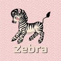 Cute Baby Zebra Fine-Art Print