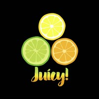 Juicy black Fine-Art Print