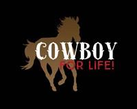 Cowboy for Life Fine-Art Print