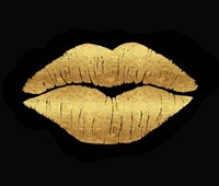 Gold Leaf Kiss Fine-Art Print