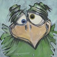 Square Bird 11b Fine-Art Print