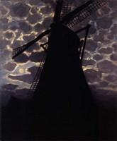 Windmill at Night Fine-Art Print