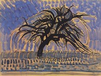 Blue Tree Fine-Art Print