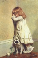 In Disgrace, 1885 Fine-Art Print