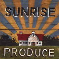 Sunrise Produce Fine-Art Print