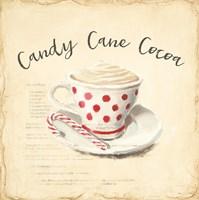 Creme de Noel Candy Cane Fine-Art Print