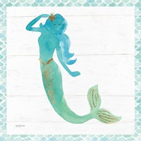 Mermaid Friends IV Fine-Art Print