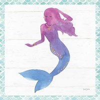 Mermaid Friends III Fine-Art Print