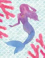 Mermaid Friends I Fine-Art Print