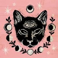 Mystical Halloween Pink IV Fine-Art Print