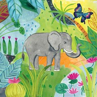 The Big Jungle I Fine-Art Print