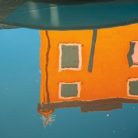 Reflections of Burano VII Fine-Art Print