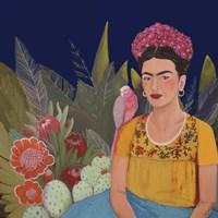 Frida A Casa Azul Revisitated Fine-Art Print