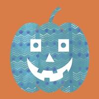 Light Blue Pumpkin Fine-Art Print