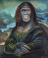 Mona Monkey Lisa Fine-Art Print