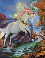 Colour-Fall Unicorn Fine-Art Print