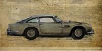 No. 5 Aston Martin DB5 Fine-Art Print