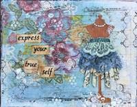 Express yourself Fine-Art Print