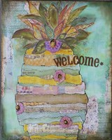 Pineapple Welcome Fine-Art Print