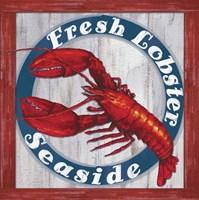 Fresh Lobster Sign 1 Fine-Art Print