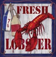 Fresh Lobster Sign 2 Fine-Art Print