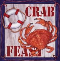 Crab Feast Sign 2 Fine-Art Print