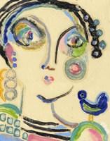 Bluebird on My Shoulder Fine-Art Print