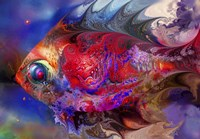 Beautiful Red Fish Fine-Art Print