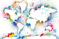 World Map 3 Fine-Art Print