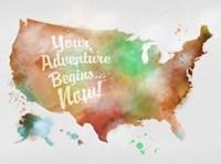 Autumn Adventure USA Fine-Art Print