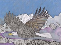 Flight Of The Eagle Fine-Art Print