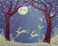 Dance Of The Moon Hares Fine-Art Print