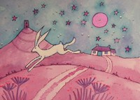 Hare And Tor Fine-Art Print