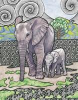 Ella and Lizzie Fine-Art Print