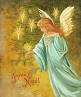 Candle Lighting Angel Fine-Art Print