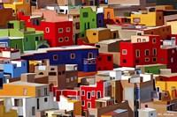 Color town Fine-Art Print