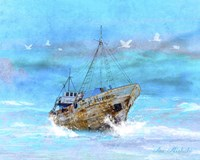 Blue Sea Fine-Art Print