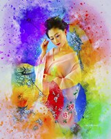 Lady in Color Fine-Art Print
