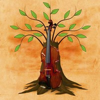 Music Tree Fine-Art Print