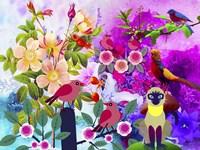 Flowery Forest Fine-Art Print